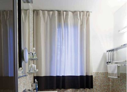 Picture of Drapery Bathroom D4BA0003