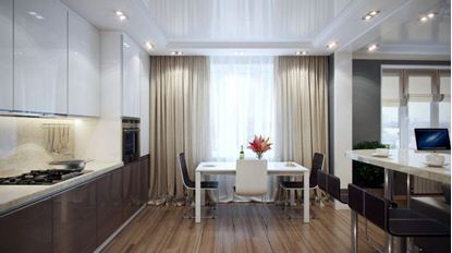 Picture of Drapery Dining Room D4D0012