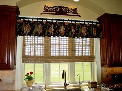 Picture of Drapery Kitchen D4K0009