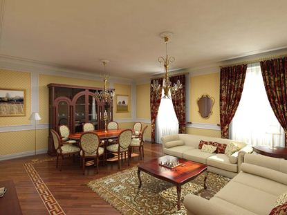 Drapery Living Room D4L0007