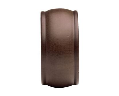 """Kirsch End Cap For 2"""" Wood Drapery Rods"""