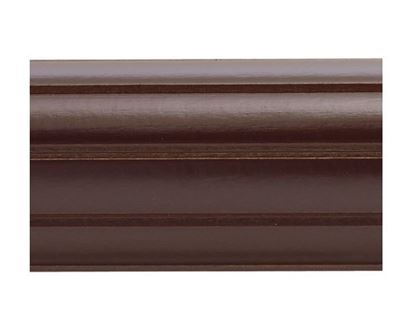 """Picture of 3"""" Fluted Wood Pole, 6'"""