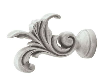 "Picture of Leaf Dance Finial For 1 3/8"" Or 2"" Drapery Rods"
