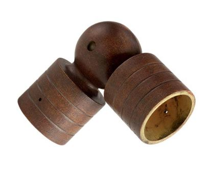 "Picture of Swivel Socket For 2"" Wood Drapery Rods"