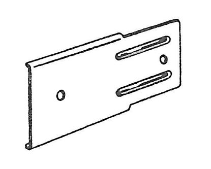 "Picture of 2"" Bracket Extension Plate For Push-In Brackets"