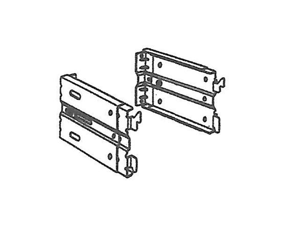 """Picture of Continental I Adjustable Clearance Bracket, Adjustable Clearance 3 1/2"""" To 2 1/2"""""""