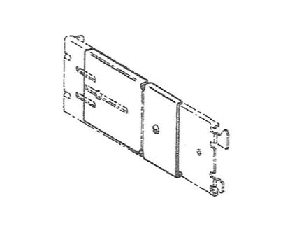 """Picture of 1 to 2"""" Adjustable Extension Plate"""
