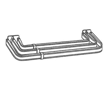 """Picture of 31-48"""" Lockseam Triple Curtain Rod, 1 1/4"""" Clearance"""