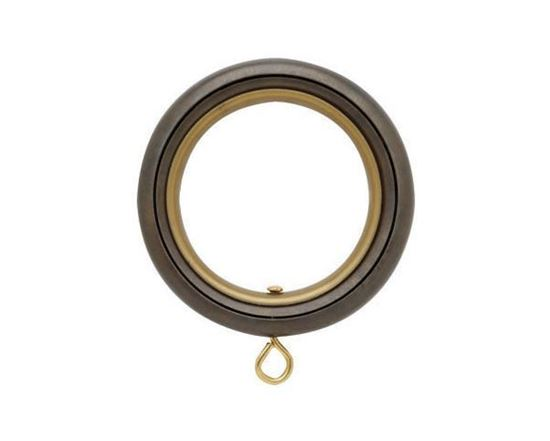 "Picture of Select Round Ring With Liner For 3/4"" Metal Drapery Rods"