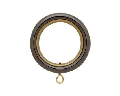 "Picture of Select Round Ring With Liner For 1 3/16"" Metal Drapery Rods"