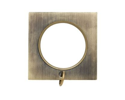 "Picture of Select Square Ring With Liner For 1 3/16"" Metal Drapery Rods"