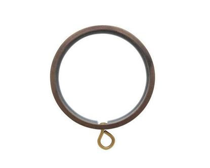 "Picture of Select Flat Ring With Liner For 1 3/16"" Metal Drapery Rods"