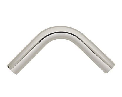 "Picture of Select 90 Degree Curved Corner Elbow With Attached Pole Connectors For 1 3/16"" Metal Drapery Rods"